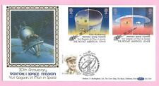 1991 BENHAM BLCS64 FDC - EUROPA - SPACE - Dual h/s  RUSSIA & Rocket, LIVERPOOL