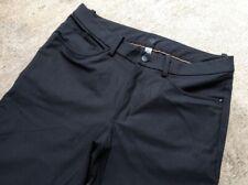 Lululemon Men's ABC Pants 32 x 32 Black Classic Warpstreme