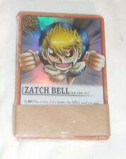 ZATCH BELLE CARD GAME DECK OF CARDS NEW STILL SEALED