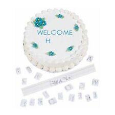 SET 56 LETTERE STAMPATELLO MAIUSCOLO WILTON cake design alfabeto torte