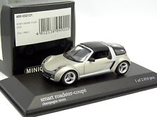 Minichamps 1/43 - Smart Roadster Coupe 2003 Champagne