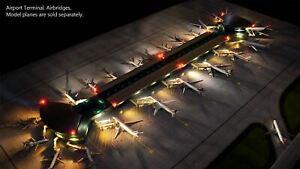 Gemini Jets 1/400 Neu Flughafen Matt Set Für Gjarptc Terminal GJAPS008