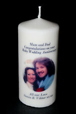 """8"""" Personalised Photo Gift Special Anniversary Ruby 40th 