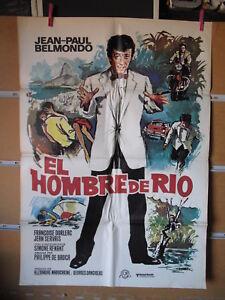 A6745 EL HOMBRE DE RIO JEAN PAUL BELMONDO FRANÇOISE DORLEAC