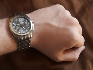 TISSOT PRC100 Titanium Quartz Chronograph Wrist Watch Sapphire Crystal For Men