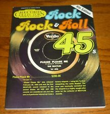 Rock and Roll 45s Records Official Price Guide 4th Edition, Jerry Osborne, 1983