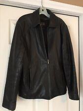 Mens Medium Wilsons Leather Jacket Thinsulate Pelle Studio 100% Genuine Leather