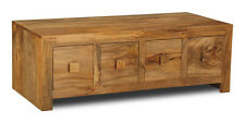Light Dakota Solid Mango Furniture Trunk Coffee Table (39l)