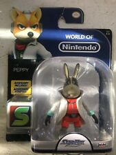 Jakks Pacific Toys - Nintendo Wave 8 Figure - PEPPY (Starfox)(4 inch) - New
