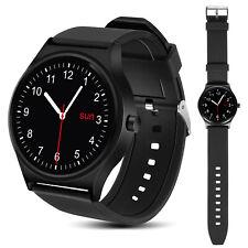 Smartwatch Horloge RS100 Bluetooth 4.0 hartslag NanoRS zwart Stappenteller