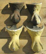 4 MATCHING ANTIQUE CAST IRON BATHTUB CLAW FEET / CLAW FOOT