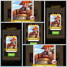 Little Lucca X5 pack - Coin Master - Immediate Delivery