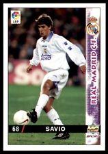 Mundicromo las inte de la Liga 98 Real Madrid 99 Savio no. 68a