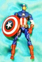 """CAPTAIN AMERICA Marvel Universe Comics - 2009 Hasbro 4.25"""" Loose Figure"""