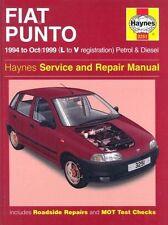 Fiat Punto (1994-1999) Service and Repair Manual, Haynes Manuals