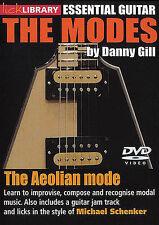 LICK LIBRARY AEOLIAN MODE MICHAEL SCHENKER GUITAR DVD