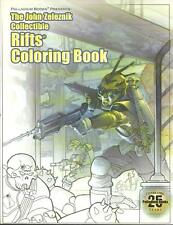 John Zeleznik Collectible Rifts Colouring Book, Palladium Press, New book