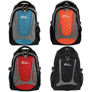 "15"" Laptop Notebook School Travel Backpack Bag Hiking Rucksack 27L Medium Small"