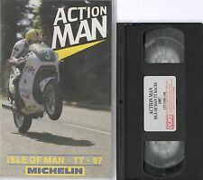 ACTION MAN ISLE OF MAN TT 87 1987 VHS VIDEO JOEY DUNLOP GEOFF JOHNSON P.MELLOR