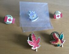 Souvenir Canada related pin badges