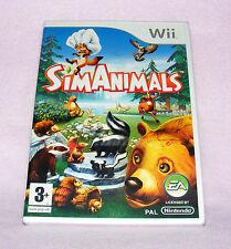 Nintendo Wii Spiel-SimAnimals