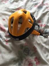 CINELLI VINTAGE RETRO CYCLING HELMET GREAT CONDITION YELLOW BLACK SIZE 6