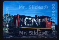 Original Slide CN Canadian National GE70T 41 In 1982 At Charlottetown PEI