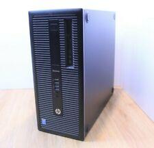 HP EliteDesk 800 G1 Torre de Windows 10 Intel Core i3 4th generación 3.6GHz 4GB 320GB Wifi