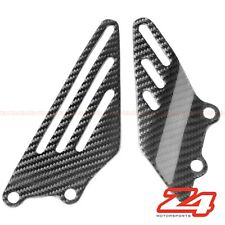 2006-2018 ZX-14 ZX-14R Rearset Foot Peg Mount Heel Guard Plate Carbon Fiber