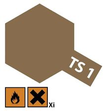 Tamiya Acryl Sprühfarbe TS-1 Rot-Braun matt 100ml - 85001