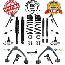 Air Bag Coil Spring Conversion Kit Shocks + Control Arm Chassi Steering Kit 4WD