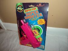 Vtg  1990's Rapid Fire Plastic Fun Machine Pink Gun Imperial Toys Safe pellets