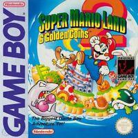 Nintendo GameBoy Spiel - Super Mario Land 2: 6 Golden Coins Modul