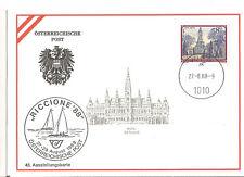 Österreich Postkarte Austellungskarte