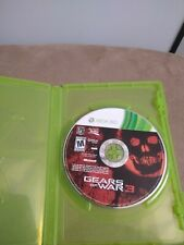 Gears of war 3 Xbox 360 video game disc