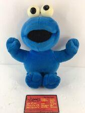 2001 Mattel Fisher Price COOKIE MONSTER Sesame Street Blue Stuffed Plush Animal