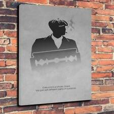 "Peaky Blinders Movie Art Printed Canvas Picture A1.30""x20""30mm Deep"