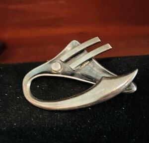 Vintage Sigi Pineda Mexican Silver Moderist Pin