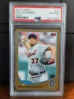 2013 Topps Gold Max Scherzer Baseball Card #37 PSA 10 Gem Mint POP 1