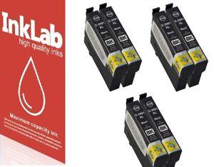 6 Ink Cartridges XL for Epson Expression Home XP-235 XP-257 XP-345 XP-435 XP-455