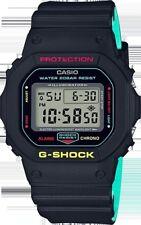 Casio G-shock 5600 Black Rasta Edition Limited Unisex Resin Digital DW5600CMB-1