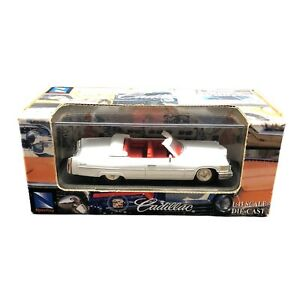 New Ray 1976 76 Cadillac Coupe Deville Convertible Car White Die Cast 1/43 Scale