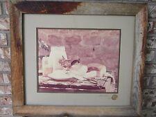 Vintage Art Gore Photograph Original Print Colorado Artist '74 Signed Framed
