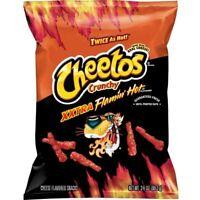 XXTRA Flamin' Hot Cheetos 3.5 oz Crunchy Flamin' Hots 3.5oz bag