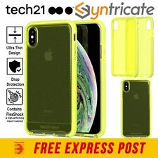 tech21 EVO Check for iPhone XS - Neon Yellow