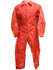 Coverall Flying Suit - Oxford Nylon - Orange - Size Small Only