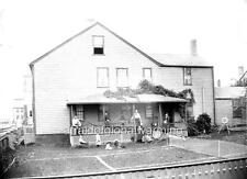 "Photo 1884 Nantucket MA ""India House & Tennis"""
