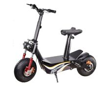 E-Scooter Mit Straßenzulassung Bis Zu 45 KmH -2000W 48V 12Ah Akku Traglast 110KG