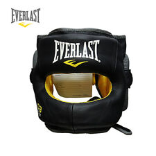 Everlast C3 Max Head Gear Guard Open Face Boxing Sparring Training Gym Fitness