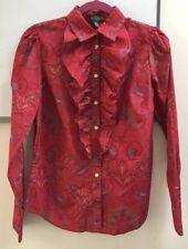Ralph Lauren Paisley Dress Shirt Size S
